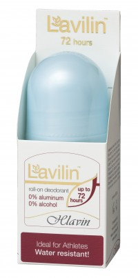DEODORANT BEZ HLINÍKU - ROLL-ON LAVILIN 72 HOURS - 60 ml
