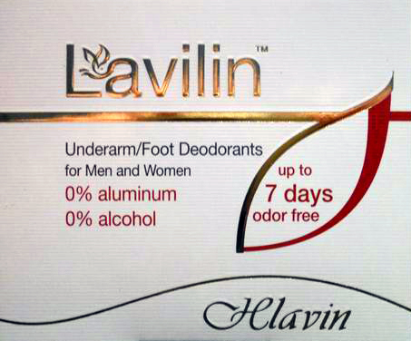 Lavilin - Duo Set - Deodorant do podpaží 1ml a na chodidla 1ml